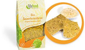 Sauerkraut Chia Crispbread
