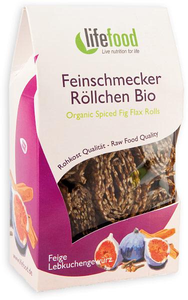 Spiced Flax Rolls