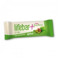 Raw Organic Energy Bar Lifebar Plus Chia Young Barley