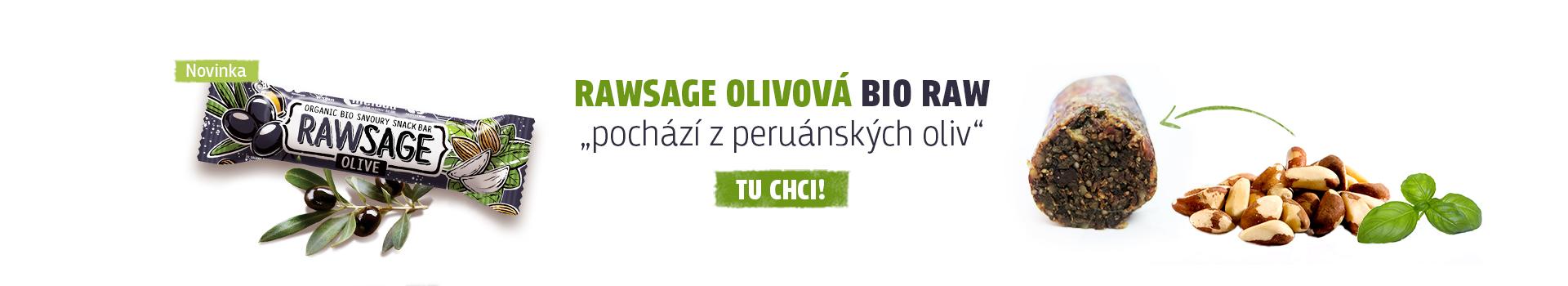 Nová rawsage olivová je tu!