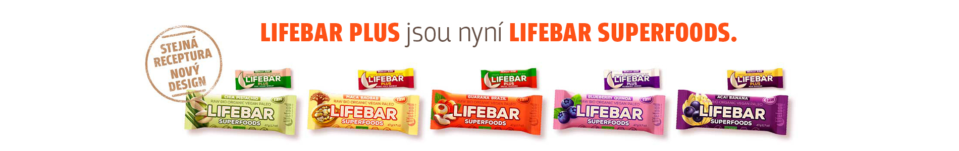 Tyčinky Lifebar